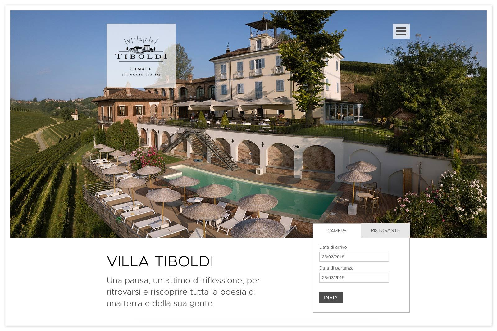 Realizzazione siti web per turismo e ospitalità